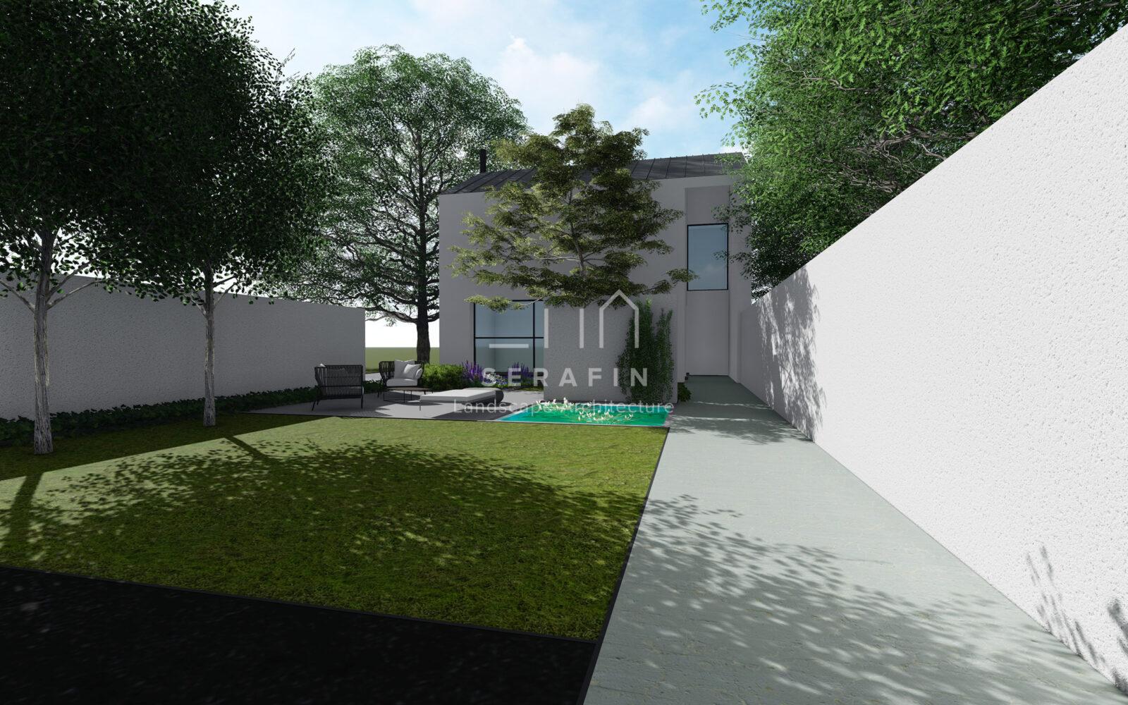 progetto di un giardino a conegliano - 1