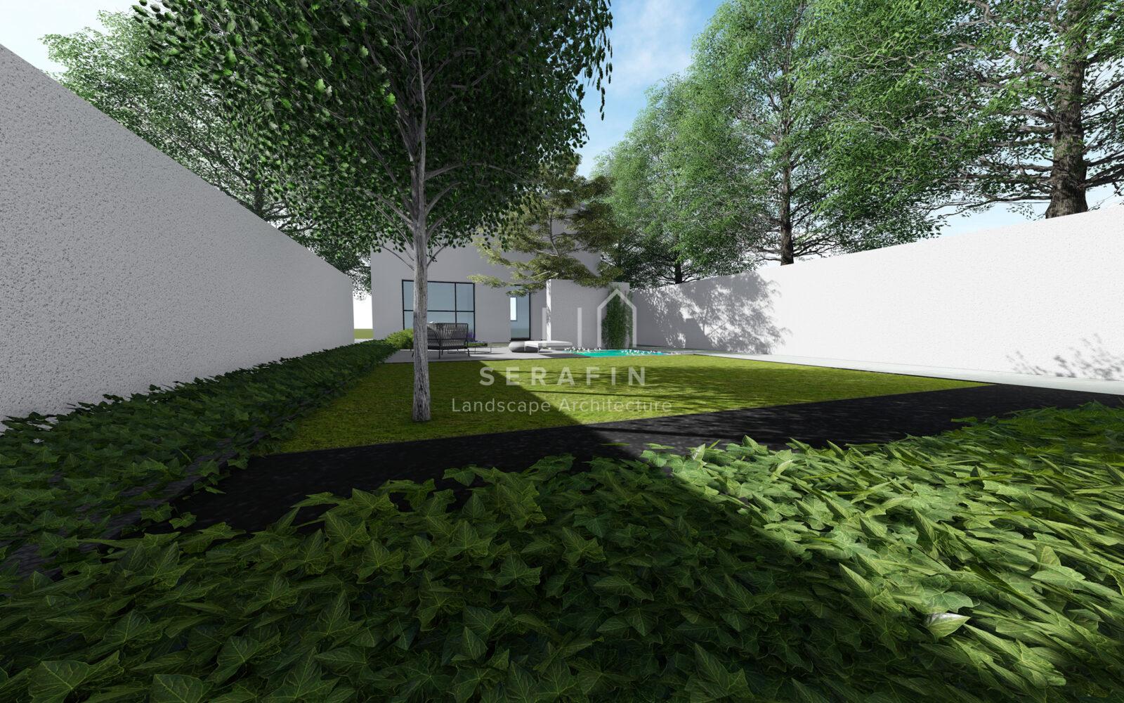 progetto di un giardino a conegliano - 2