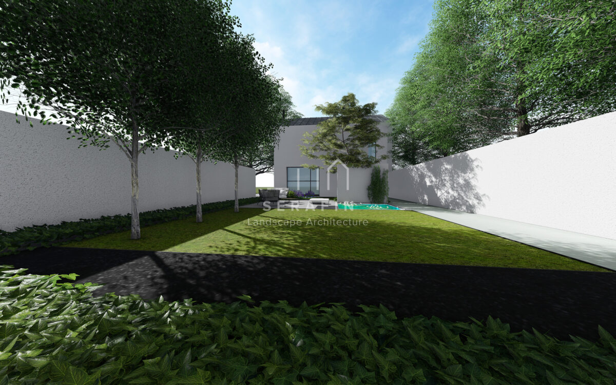project of private garden in conegliano - 4
