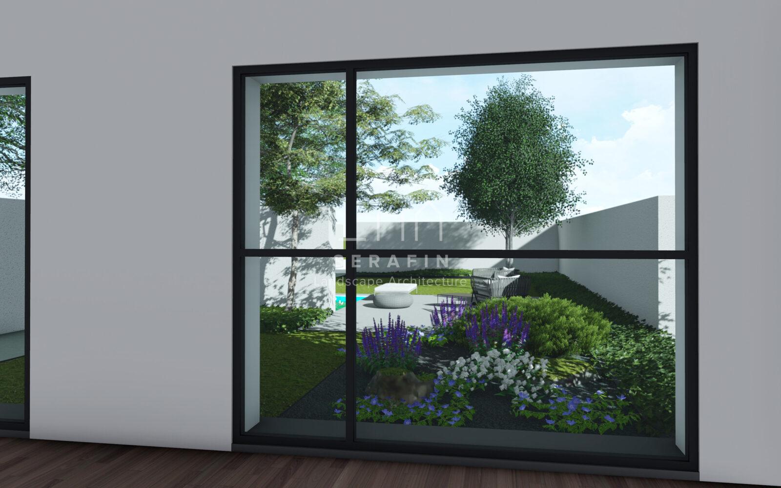 progetto di un giardino a conegliano - 5