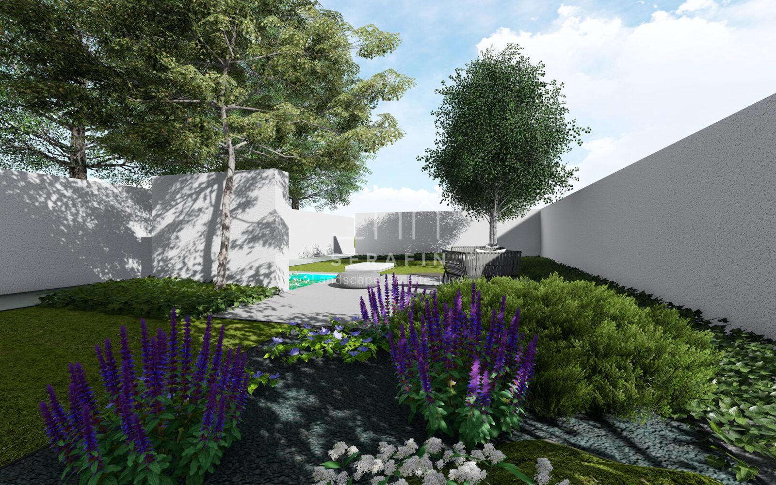 progetto di un giardino a conegliano - 6