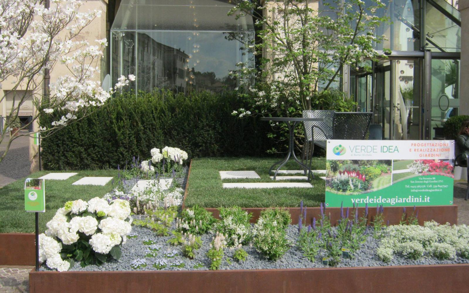 allestimento giardino Verde Idea a Castelfranco Veneto 2016 - 1