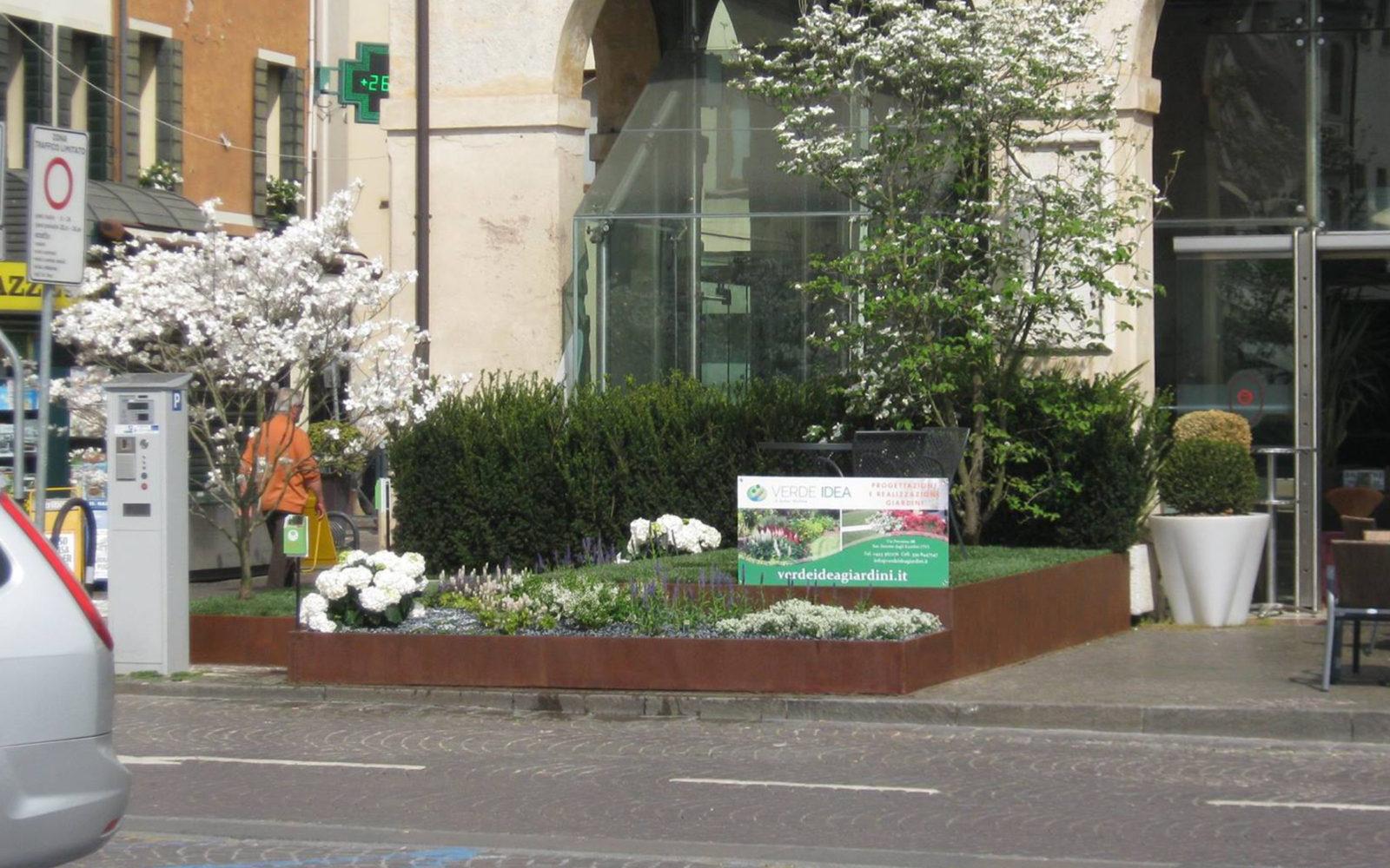 allestimento giardino Verde Idea a Castelfranco Veneto 2016 - 4