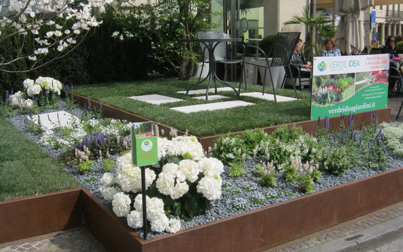 allestimento giardino Verde Idea a Castelfranco Veneto 2016 - 5