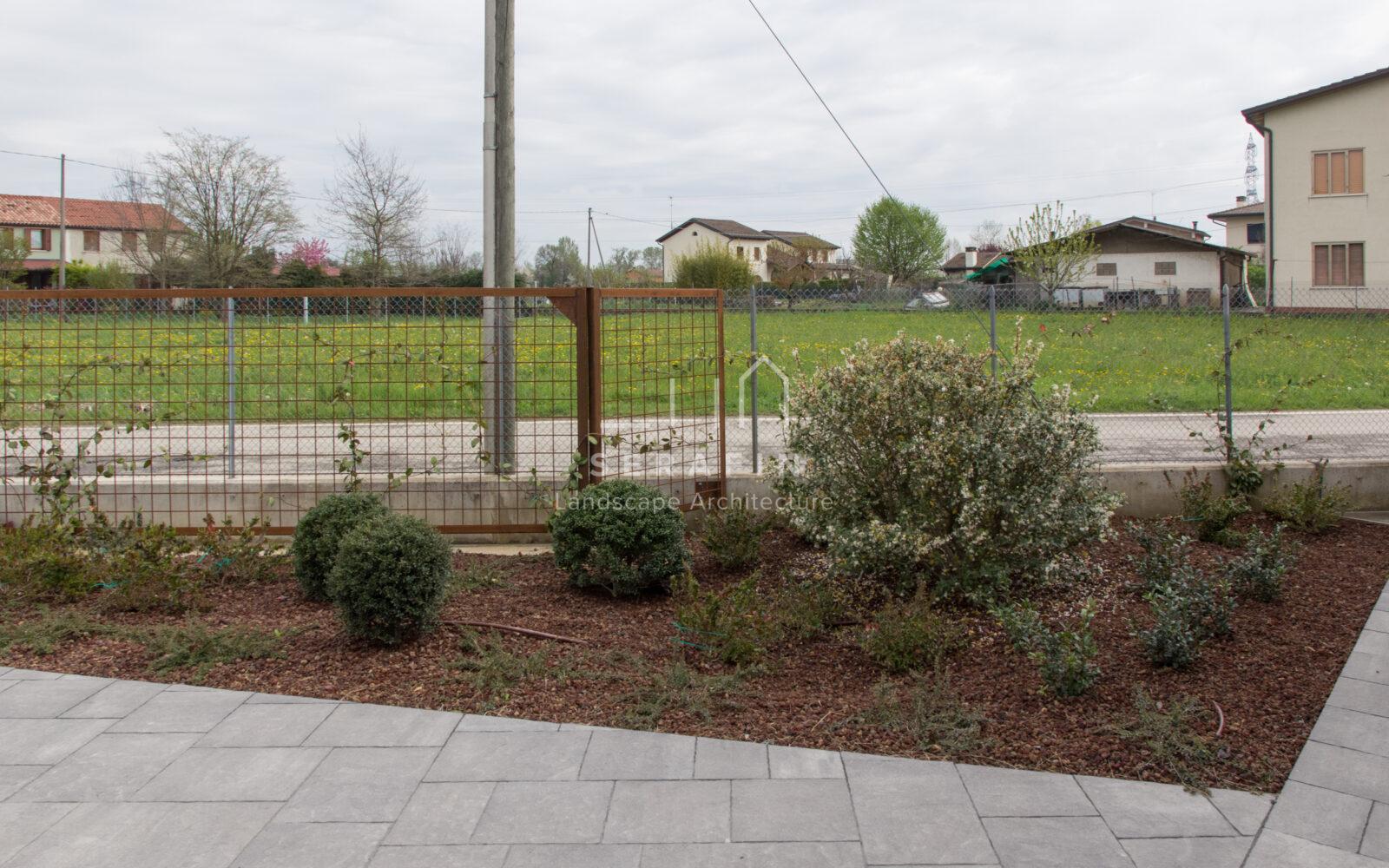 progetto di un giardino privato a padova - 12