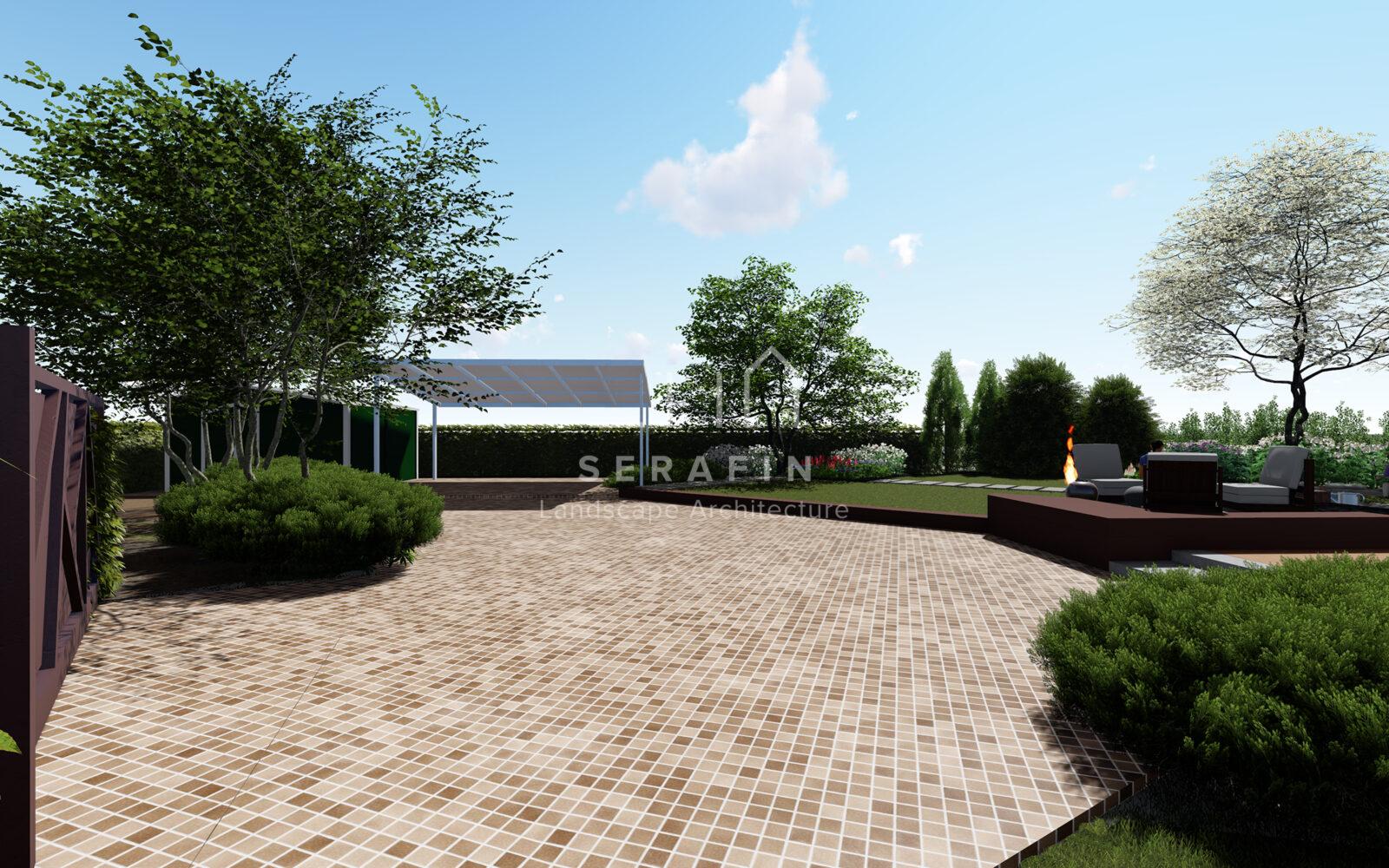 progetto di un giardino privato a padova - 2