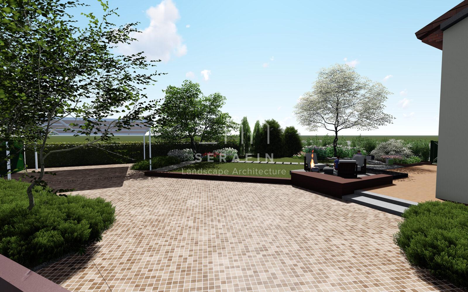 progetto di un giardino privato a padova - 4