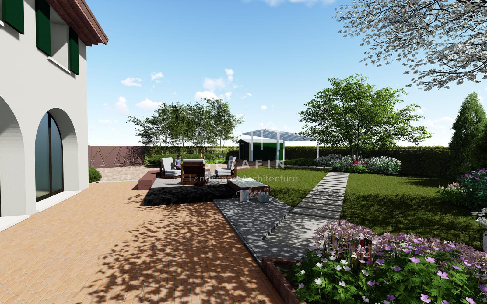 progetto di un giardino privato a padova - 5