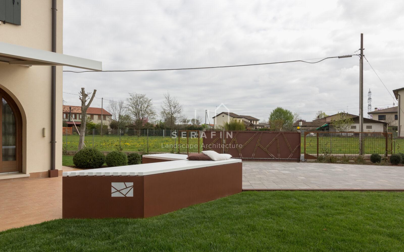 progetto di un giardino privato a padova - 8