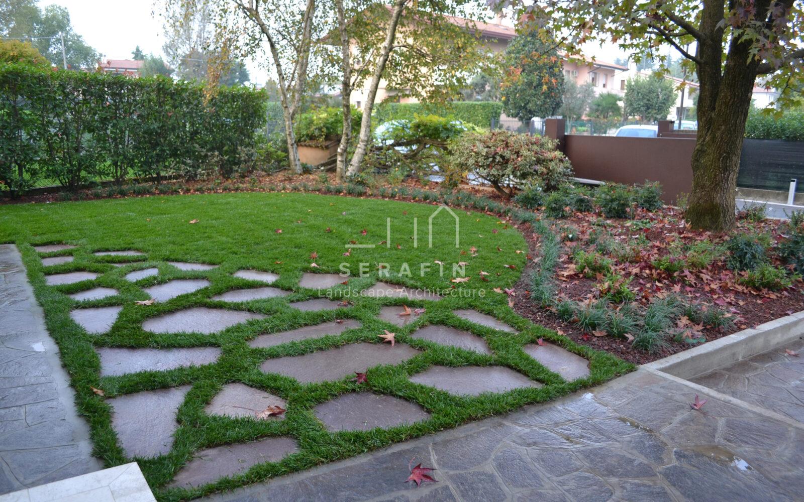 giardino privato con sistemi automatici - 1