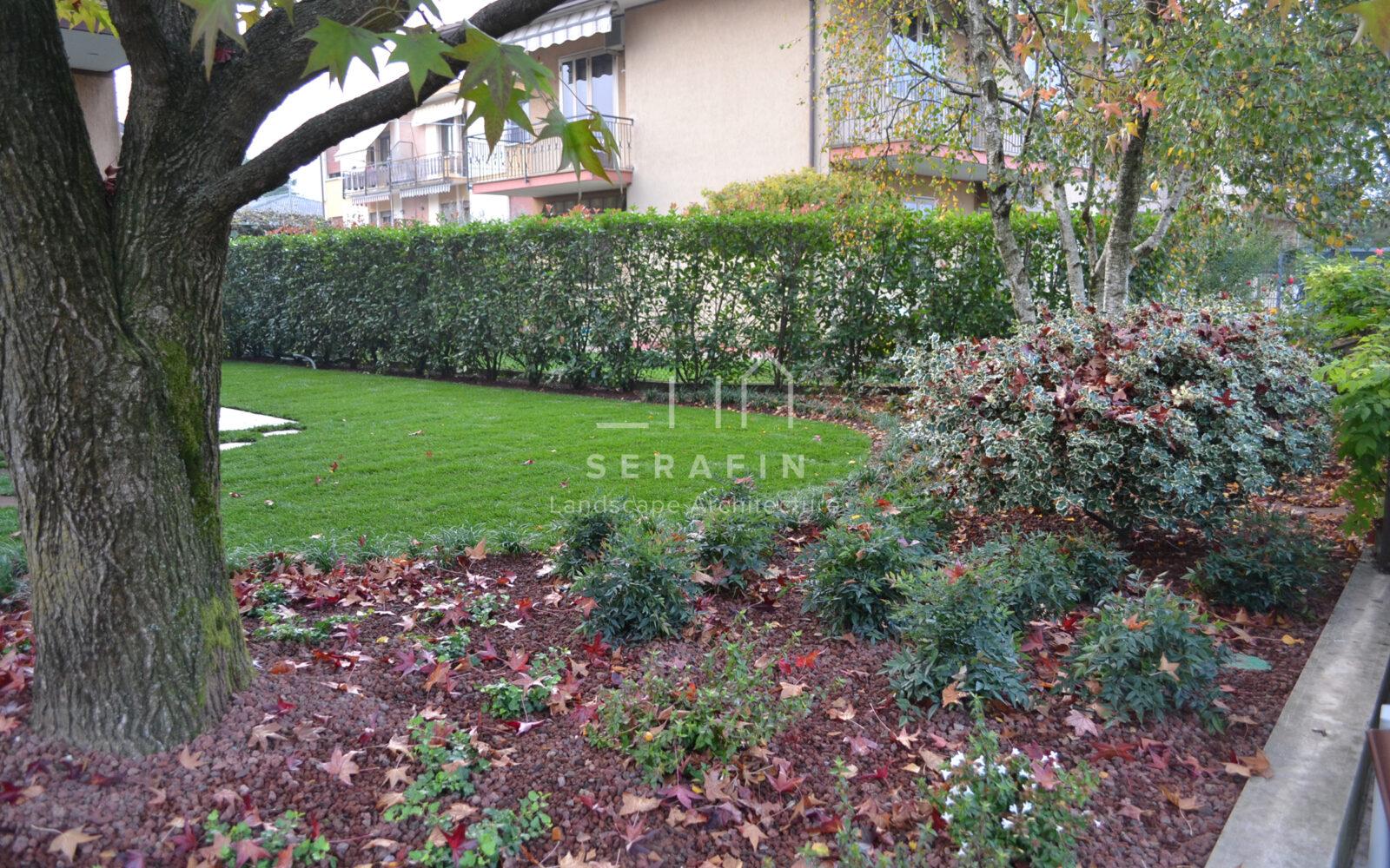 giardino privato con sistemi automatici - 2