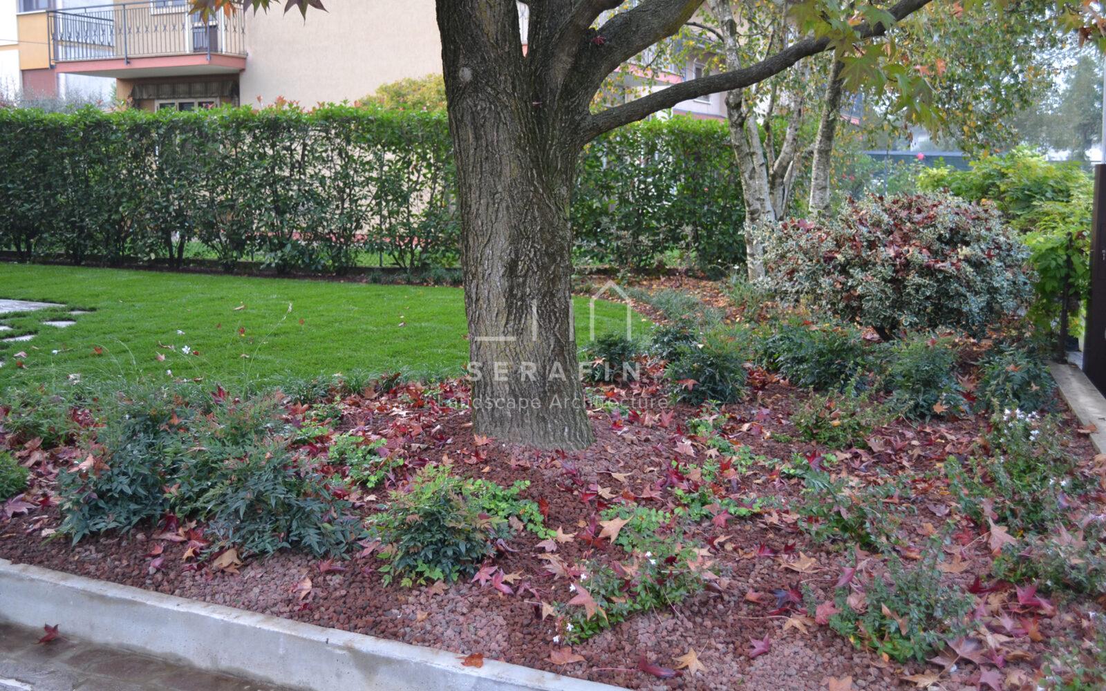 giardino privato con sistemi automatici - 4