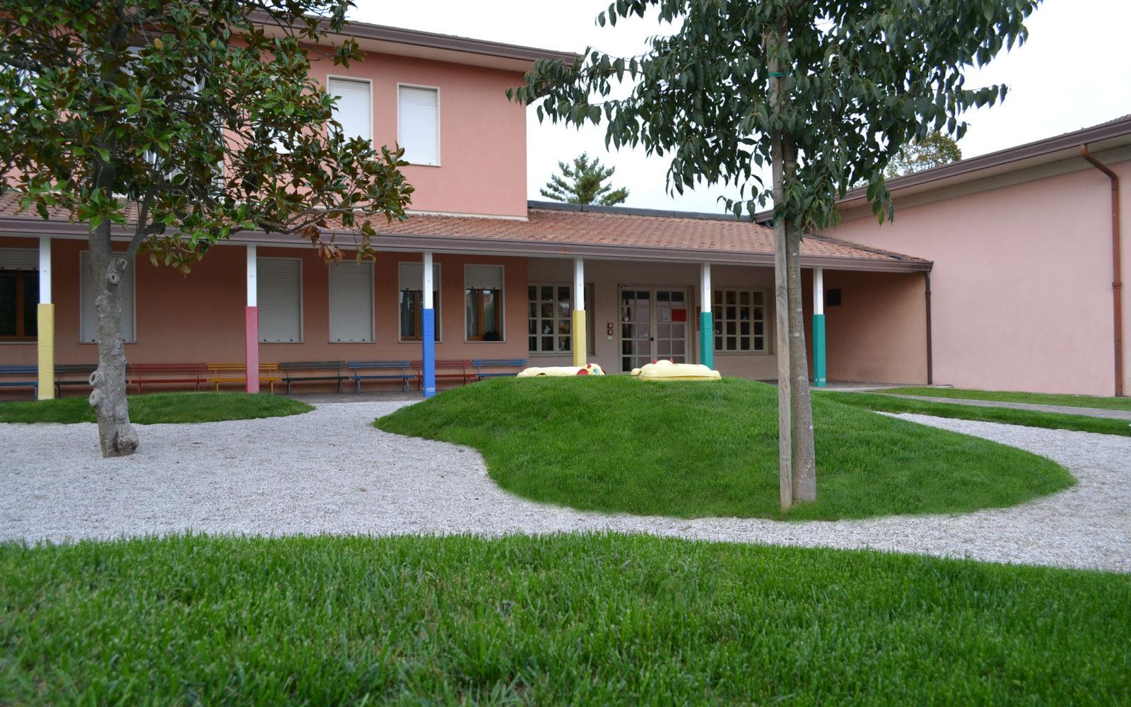 giardino ludico della scuola materna Pio X a Lancenigo di Villorba - 3