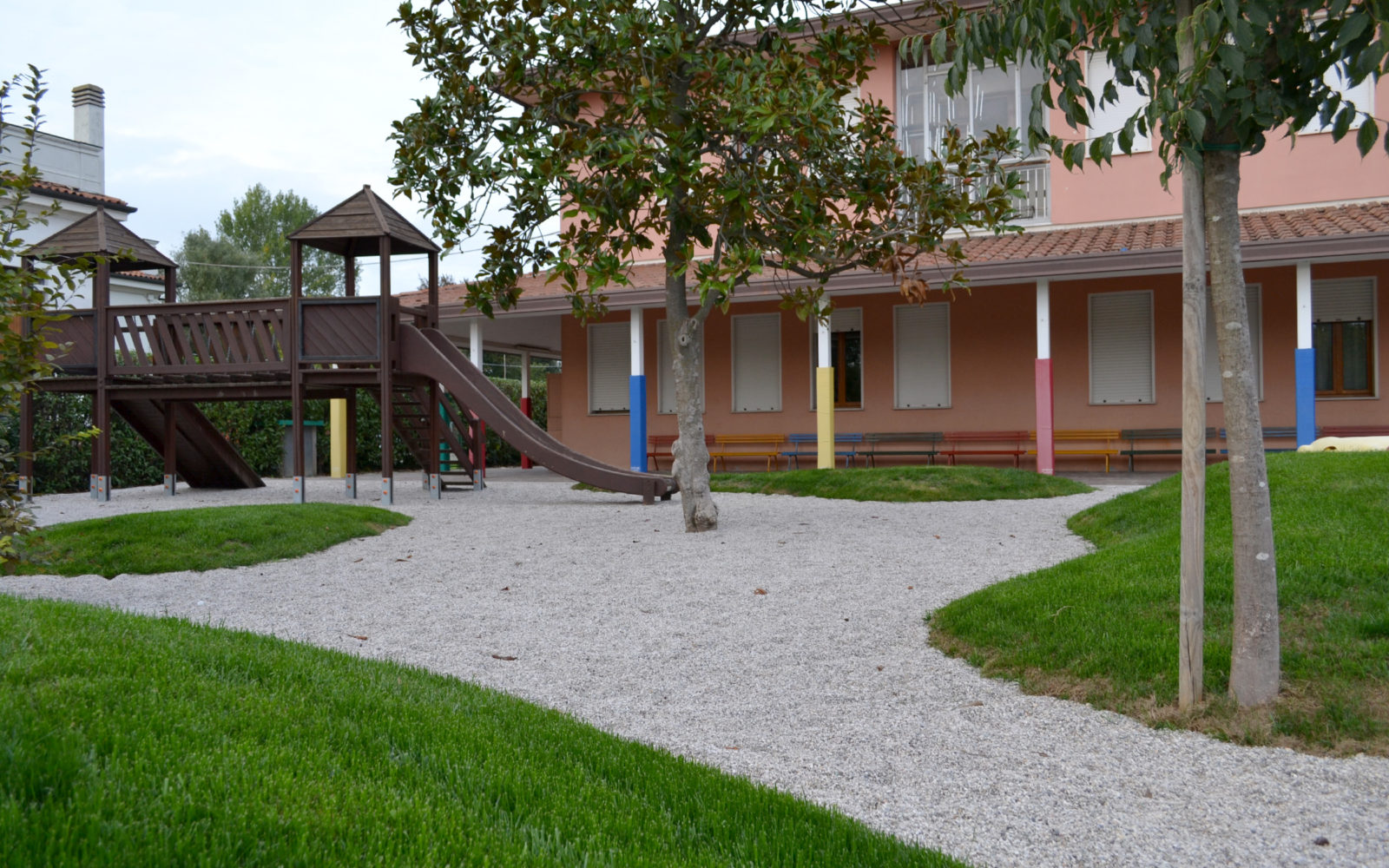 giardino ludico della scuola materna Pio X a Lancenigo di Villorba - 8