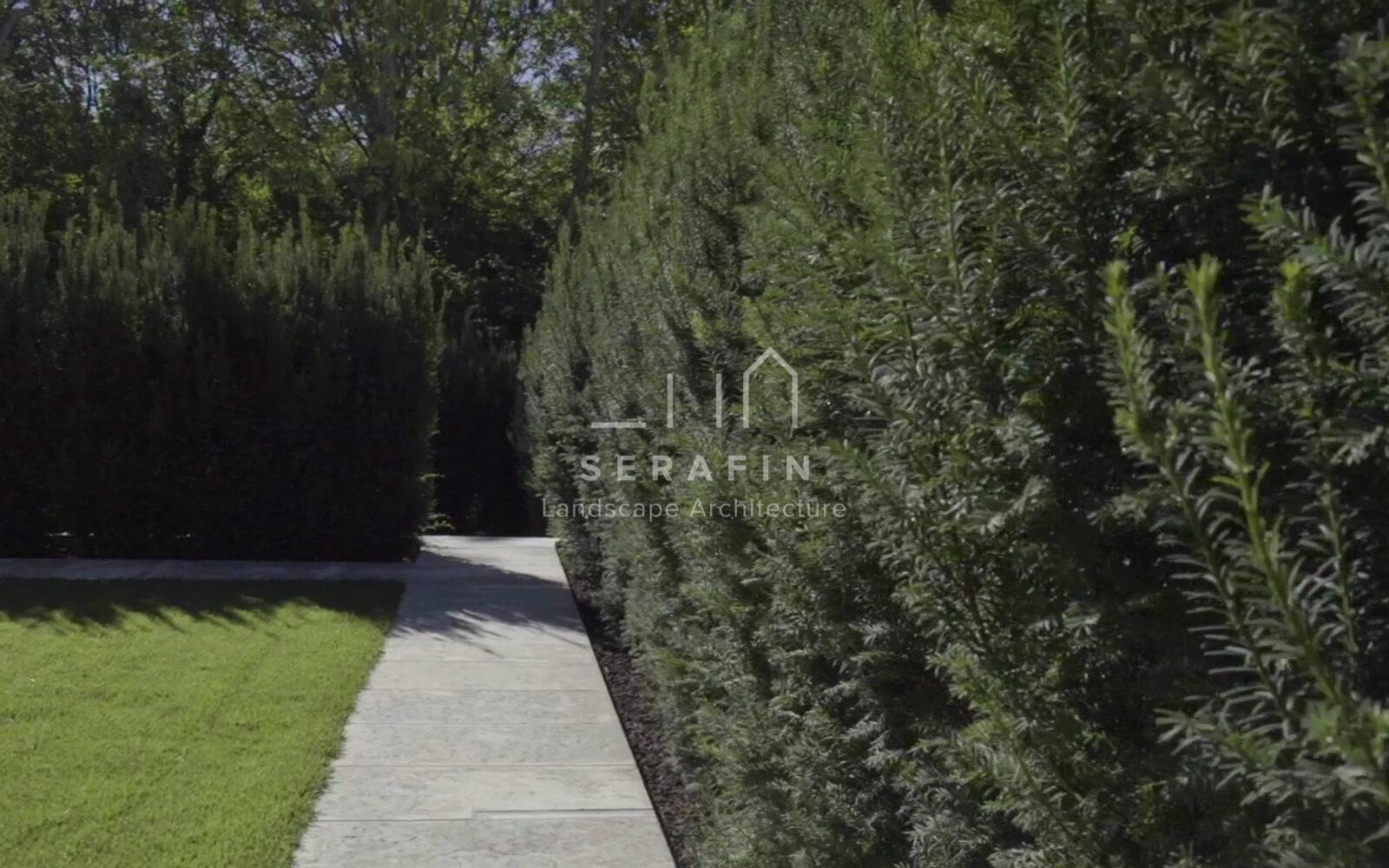 giardino privato con specchio d'acqua - 10