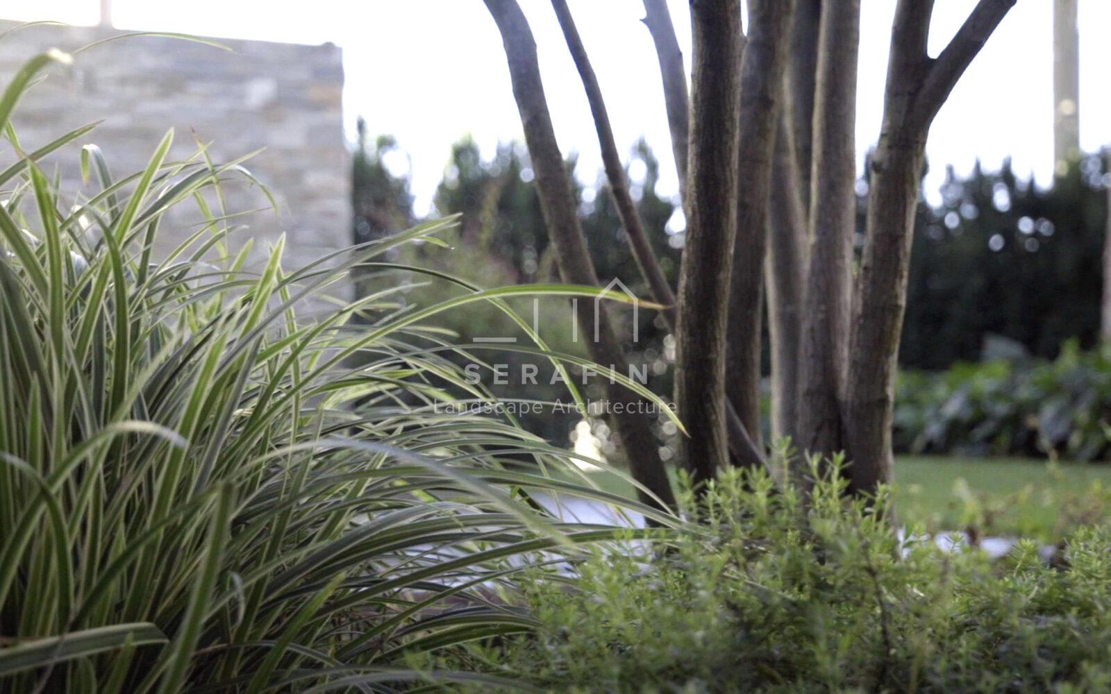 giardino privato con specchio d'acqua - 15