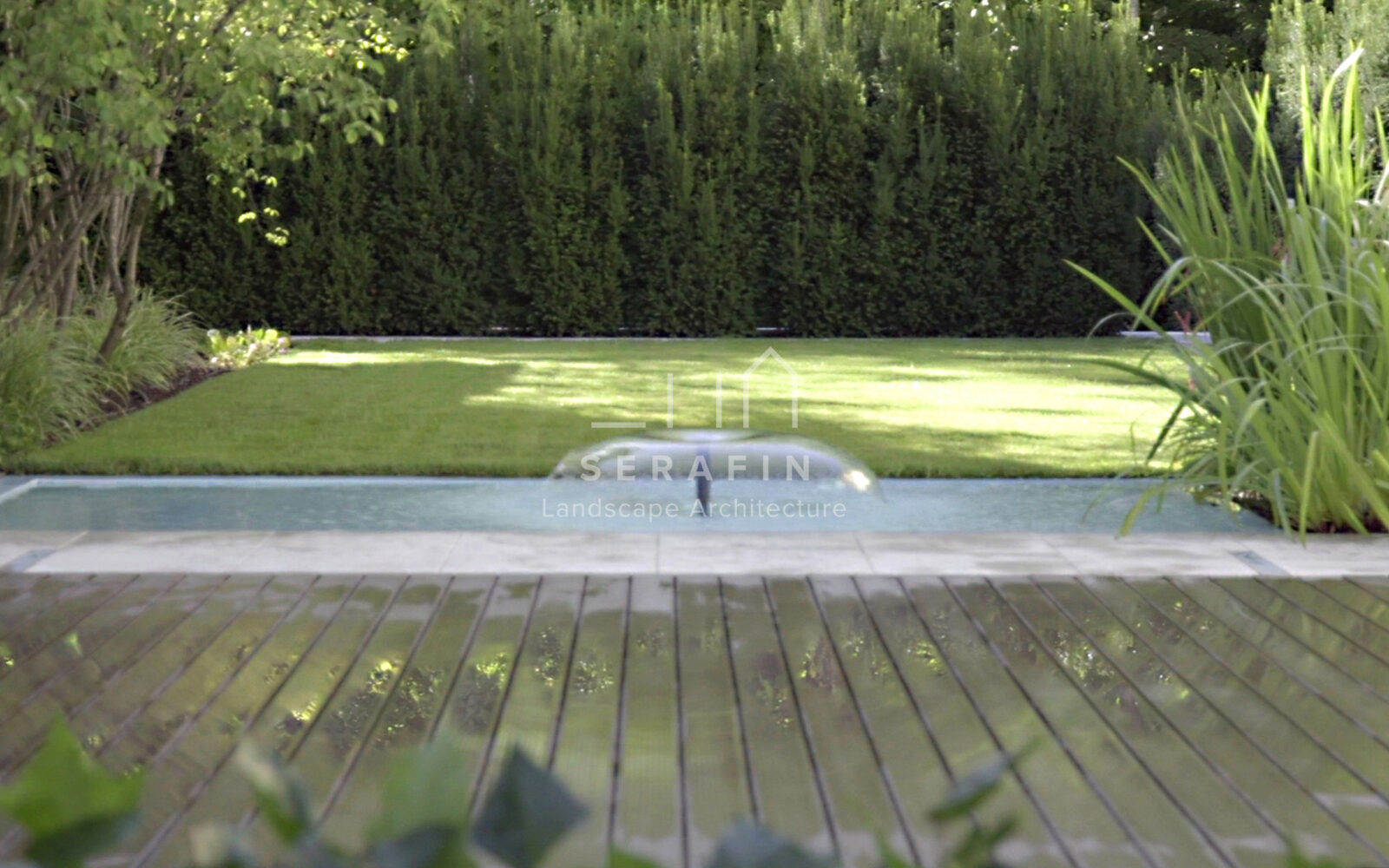 Giardino formale in provincia di treviso simone serafin - Progetto piccolo giardino ...