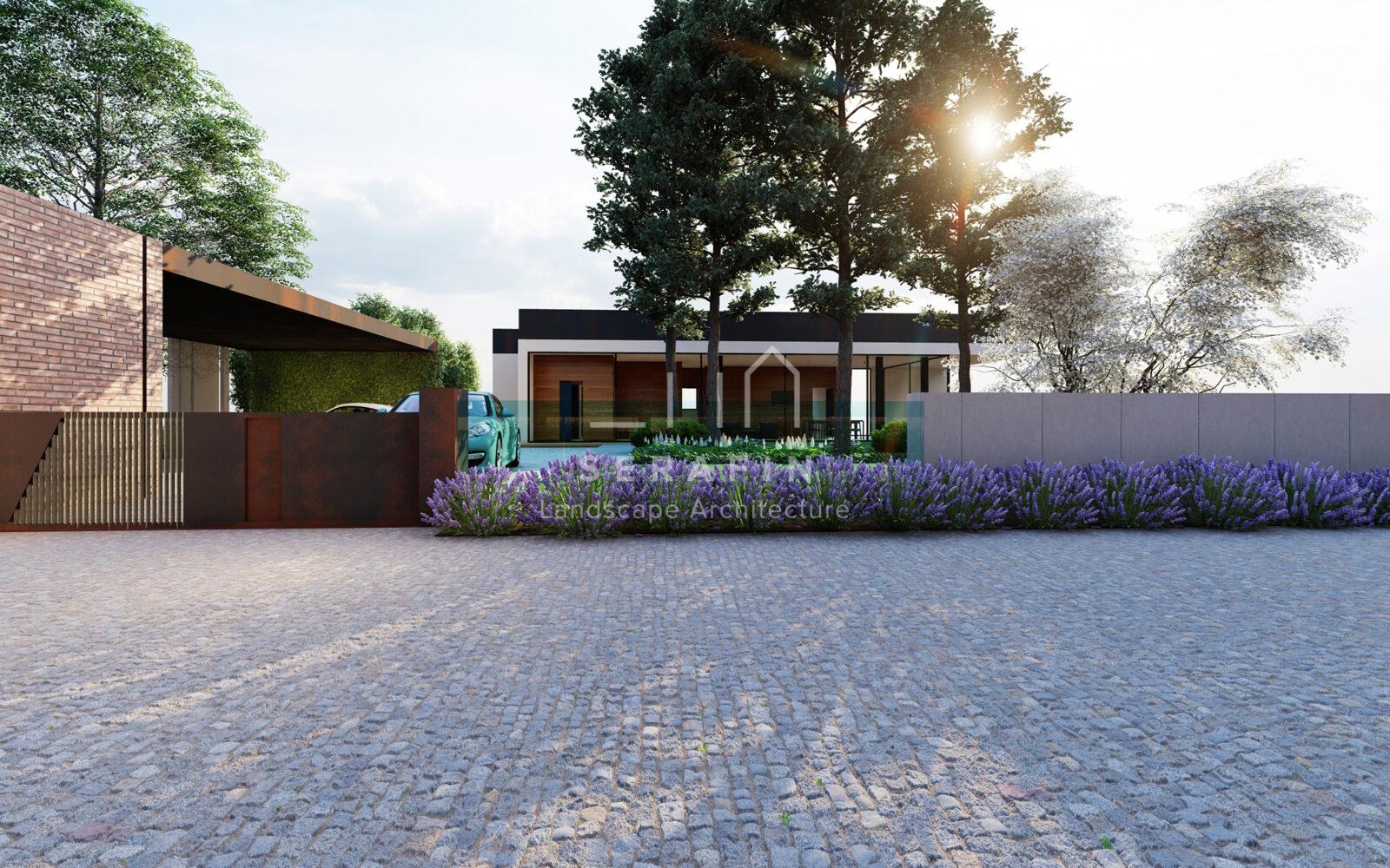progettazione integrale di un giardino periurbano in provincia di Treviso - 1