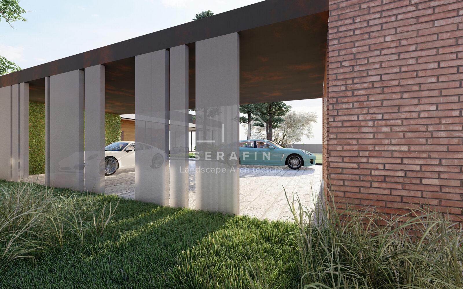 progettazione integrale di un giardino periurbano in provincia di Treviso - 2