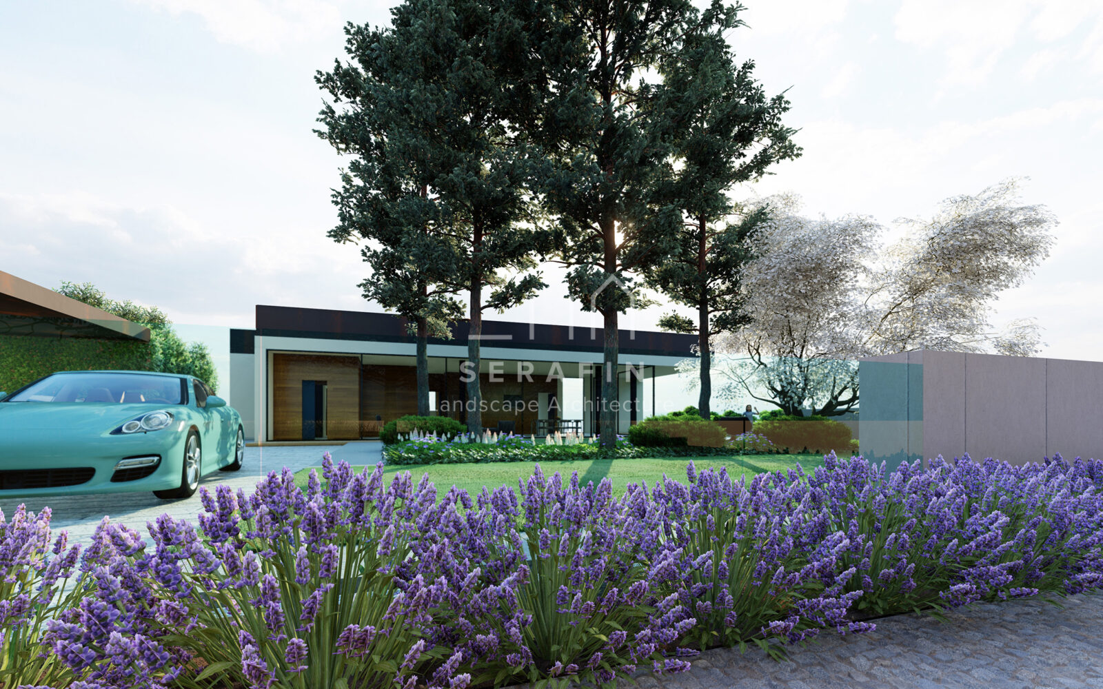progettazione integrale di un giardino periurbano in provincia di Treviso - 3