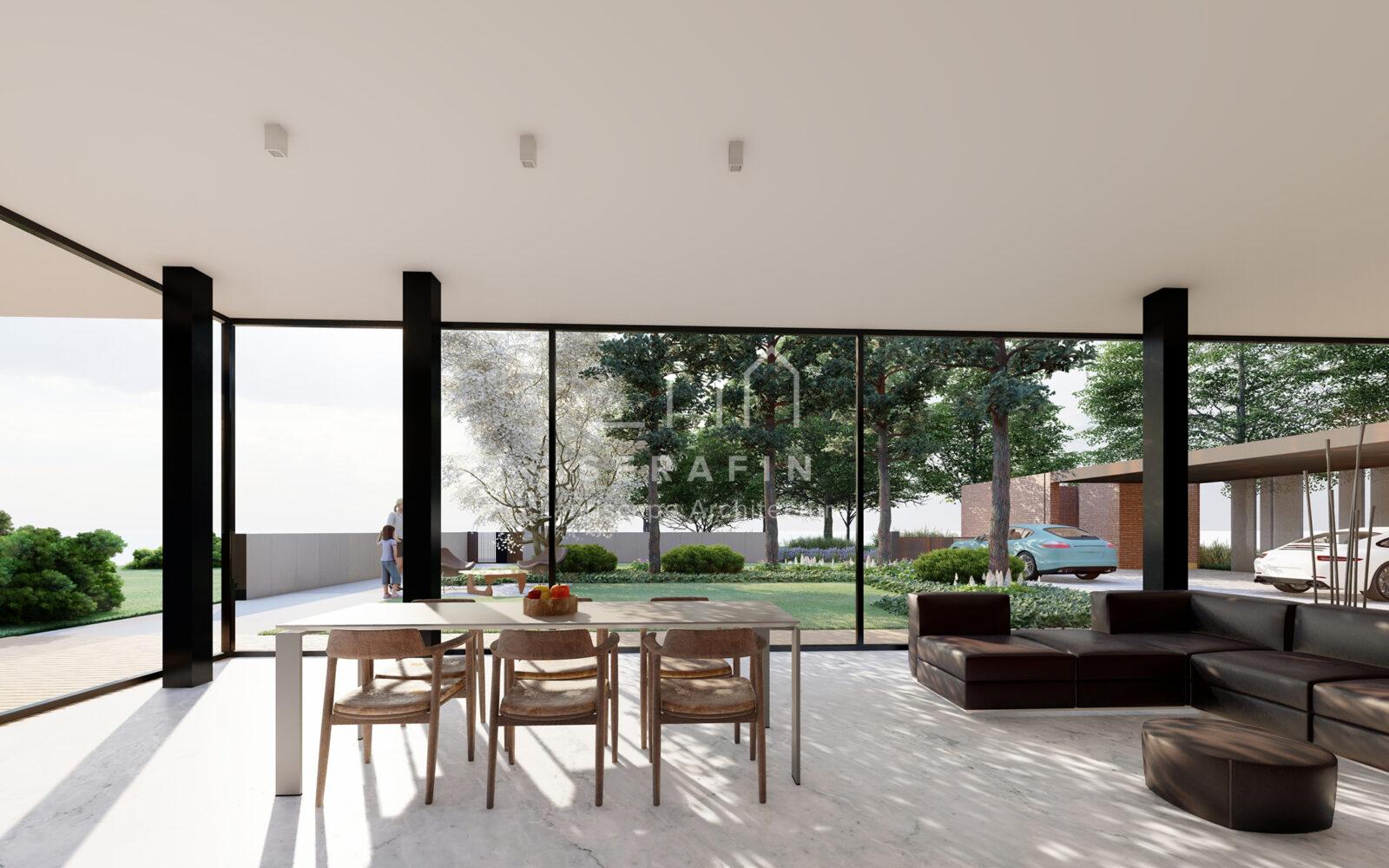 progettazione integrale di un giardino periurbano in provincia di Treviso - 5