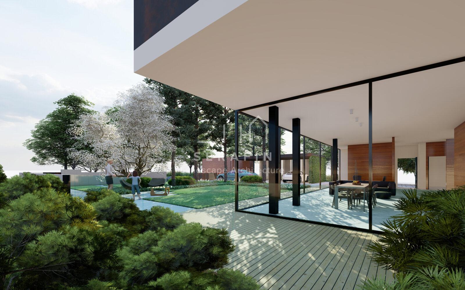progettazione integrale di un giardino periurbano in provincia di Treviso - 6