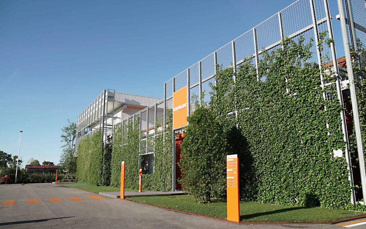 progettazione e realizzazione giardini verticali e aziendali