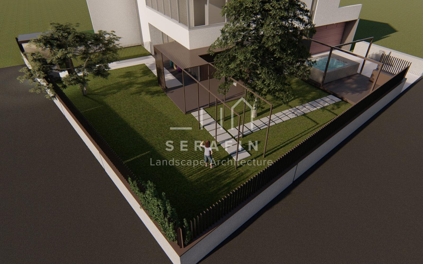 progettazione di un giardino privato a Sacile - 10