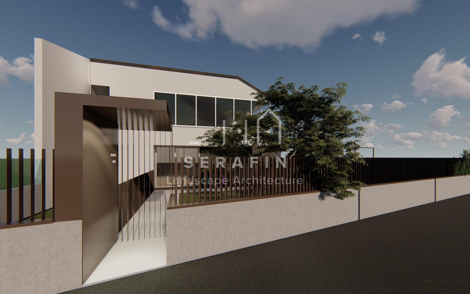 progettazione di un giardino privato a Sacile - 2