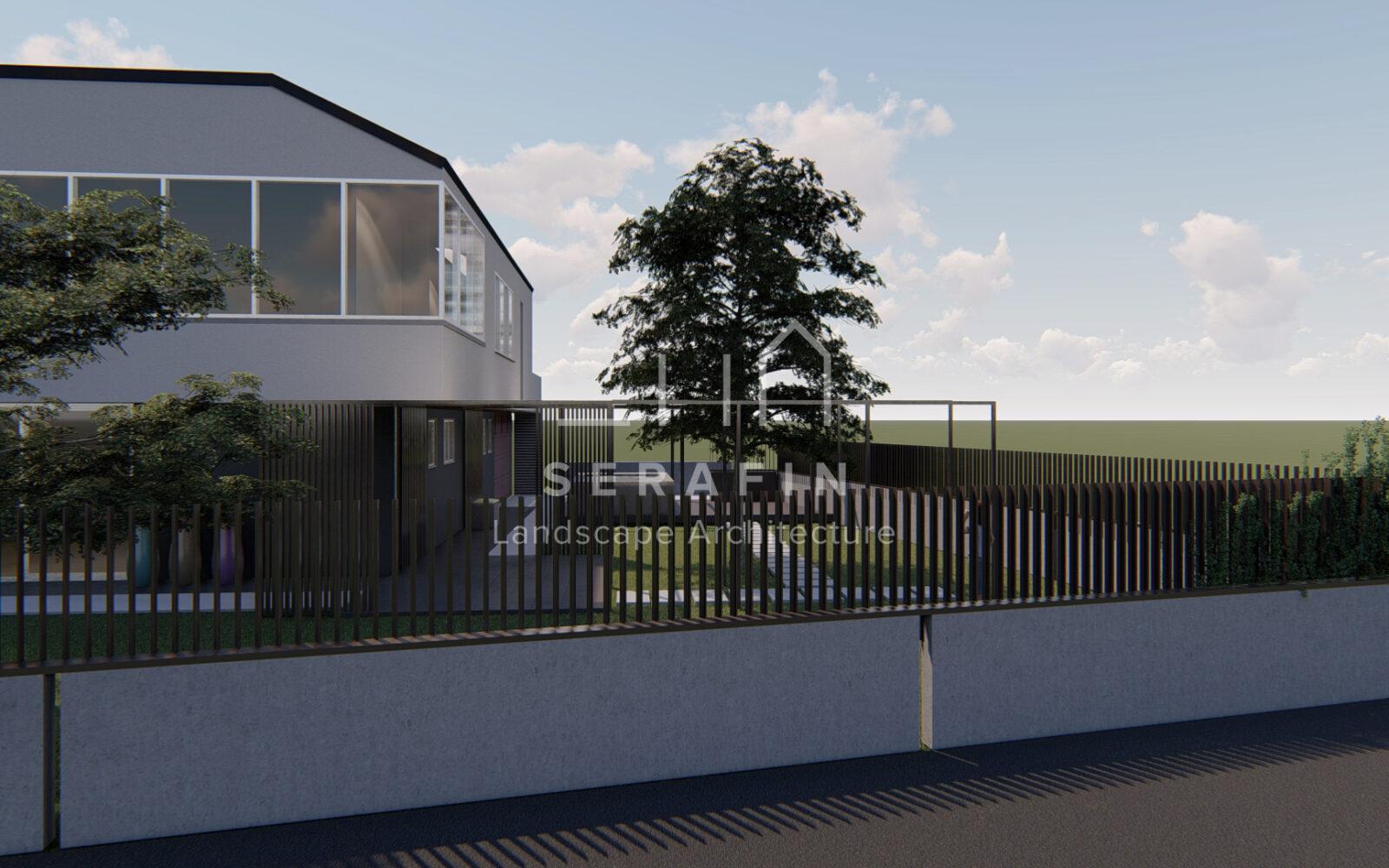 progettazione di un giardino privato a Sacile - 3