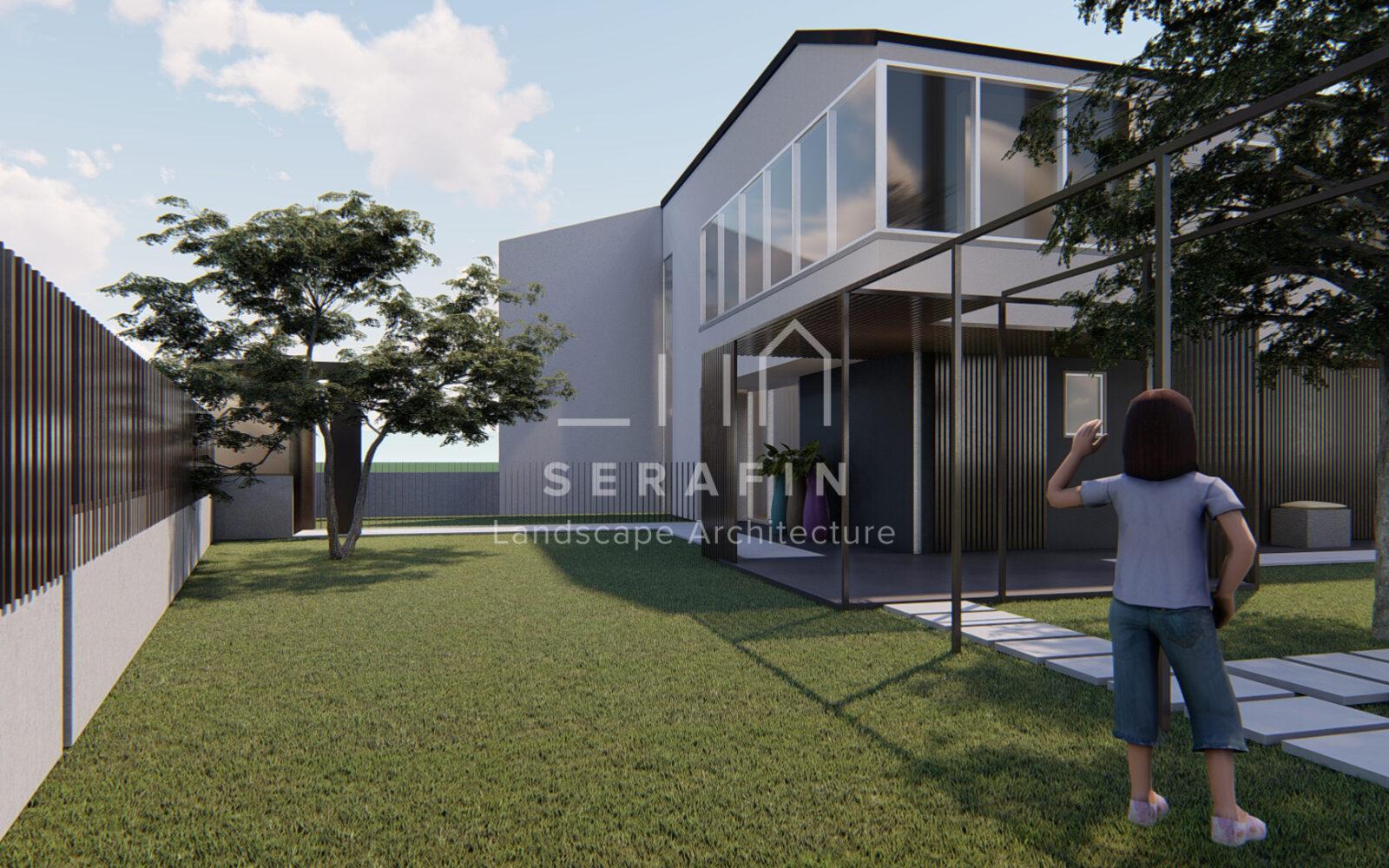 progettazione di un giardino privato a Sacile - 5