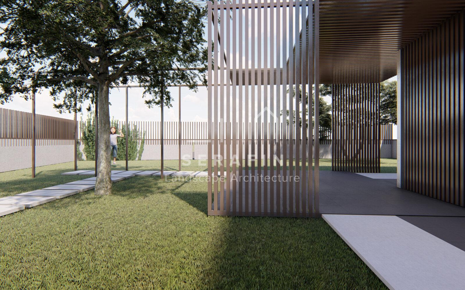 progettazione di un giardino privato a Sacile - 6