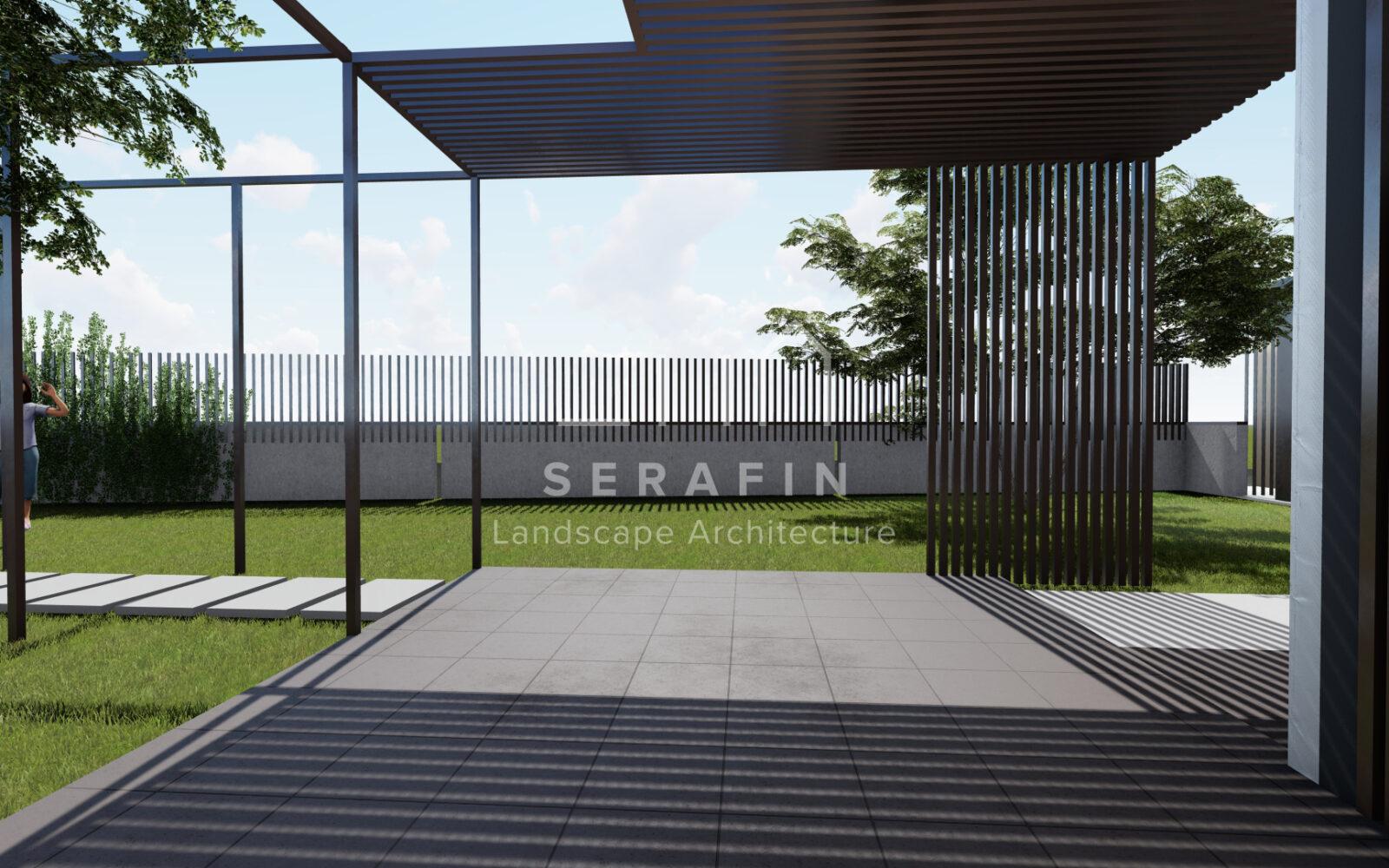 progettazione di un giardino privato a Sacile - 7