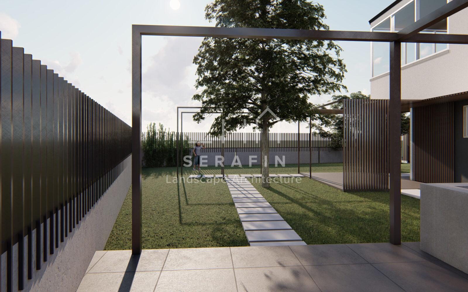 progettazione di un giardino privato a Sacile - 9