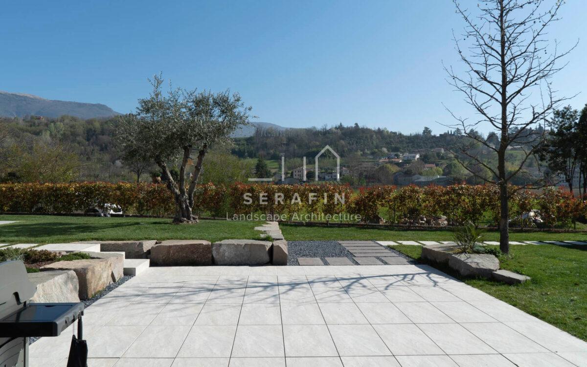 progetto giardino privato moderno a Vittorio Veneto - 4