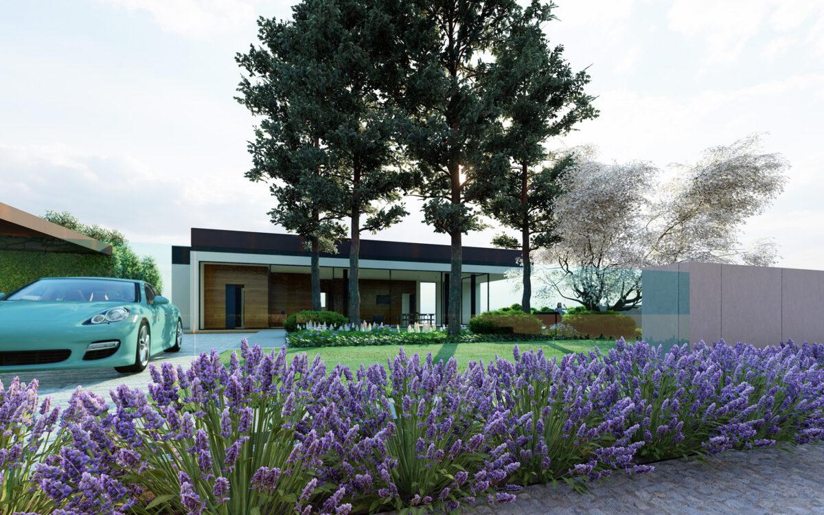 progettazione integrale di un giardino periurbano in provincia di Treviso