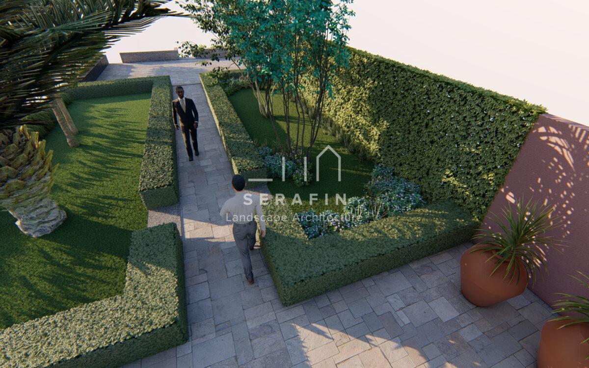 immagine progetto restauro giardino storico veneziano - 3